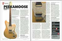 Peekamoose Custom Guitars and Guitar Repairs NYC